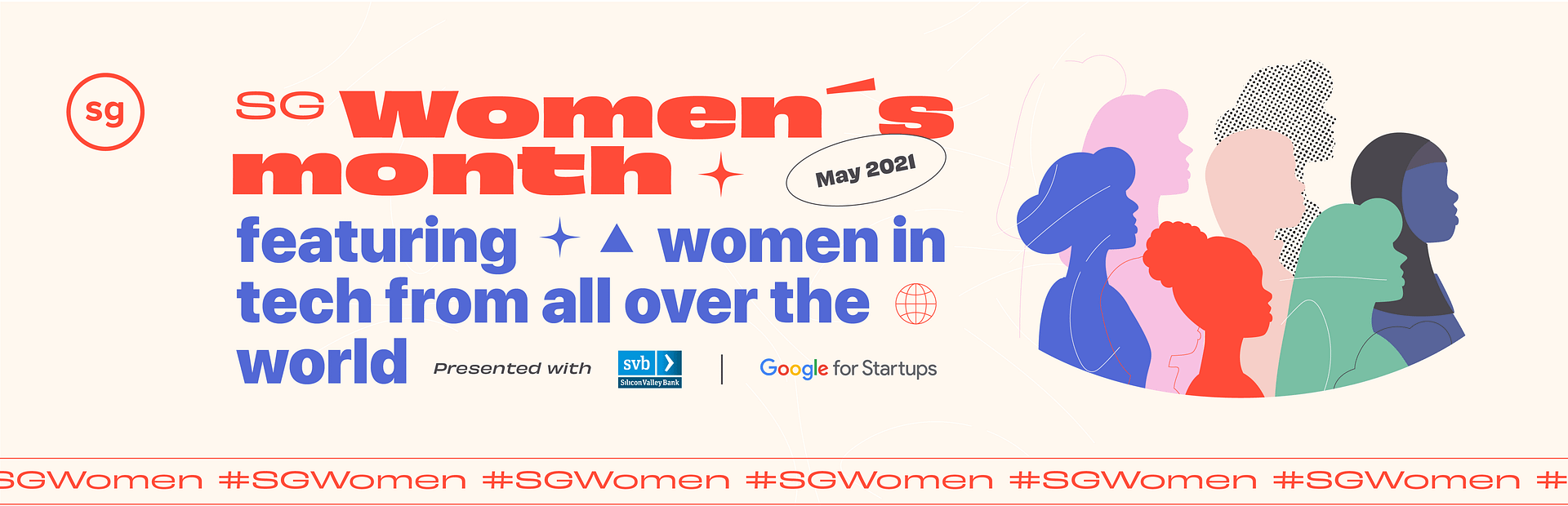 SG Women's Month presented with Silicon Valley Bank and Google for Startups